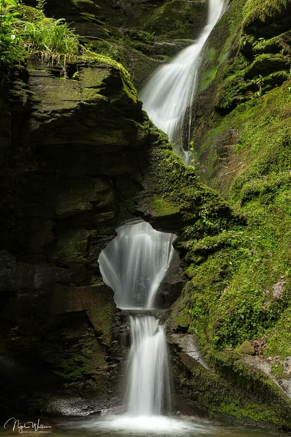 St Nectans Glen Waterfall