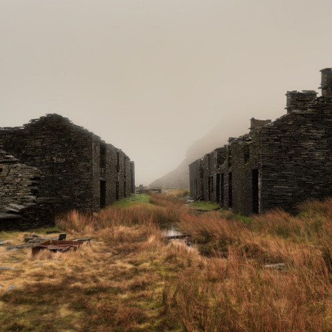Rhosydd Barracks Snowdonia North Wales Mines