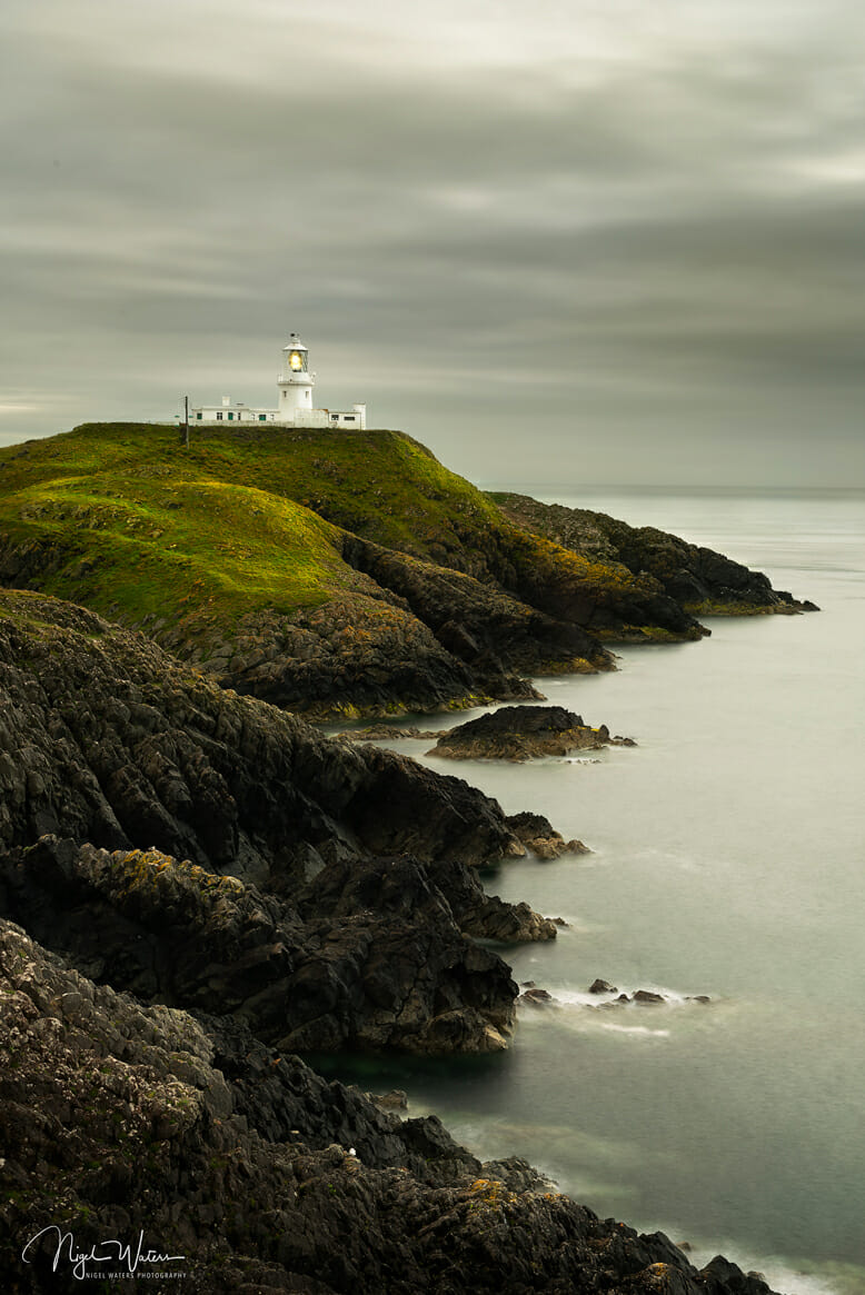 Seascape Photograph of Strumble Head Lighthouse