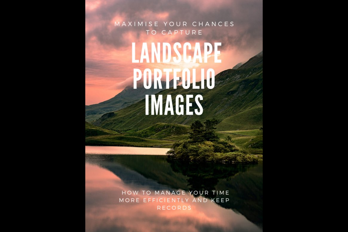 Maximise your chances of capturing portfolio quality photographs