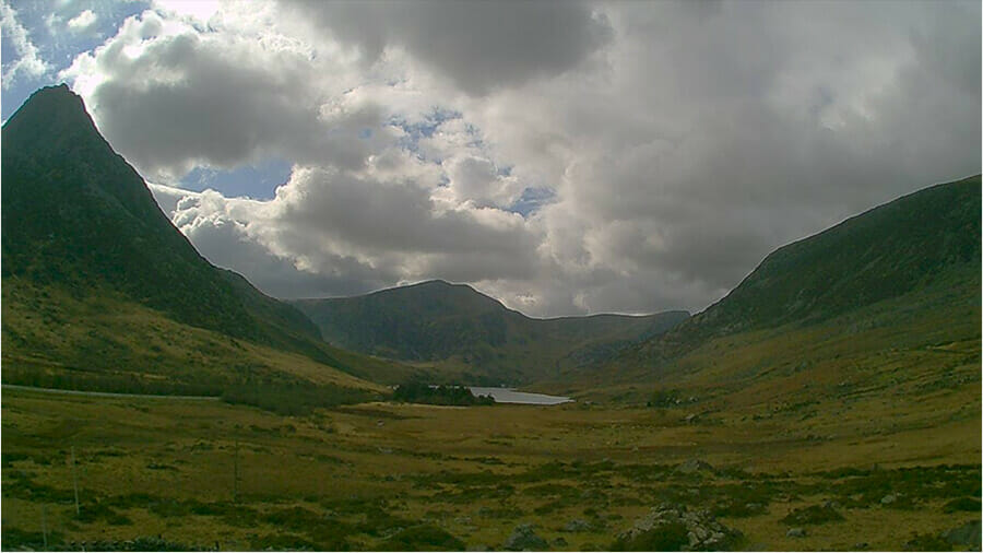 Ogwen Valley Valley Webcam