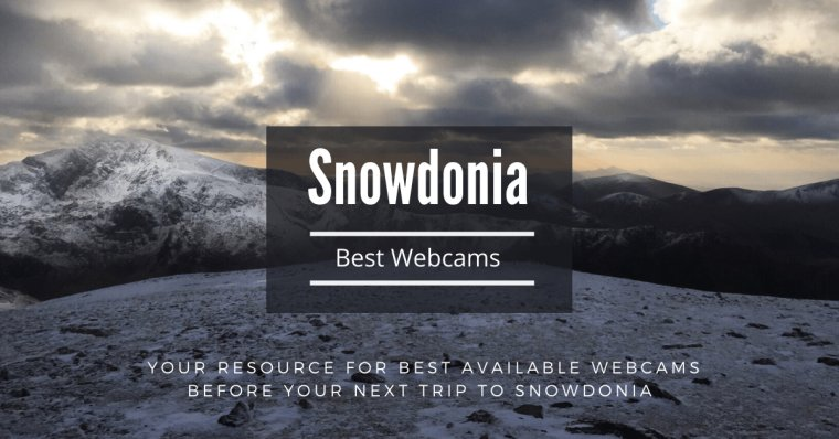 Snowdon and Ogwen Valley Webcams