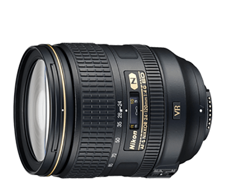 AF-S Nikkor 24-120mm f4G ED VR Lens Review