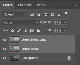 How to create Orton Effect Photoshop 3