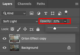 How to create Orton Effect Photoshop 5