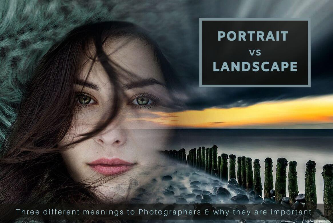 Portrait vs Landscape