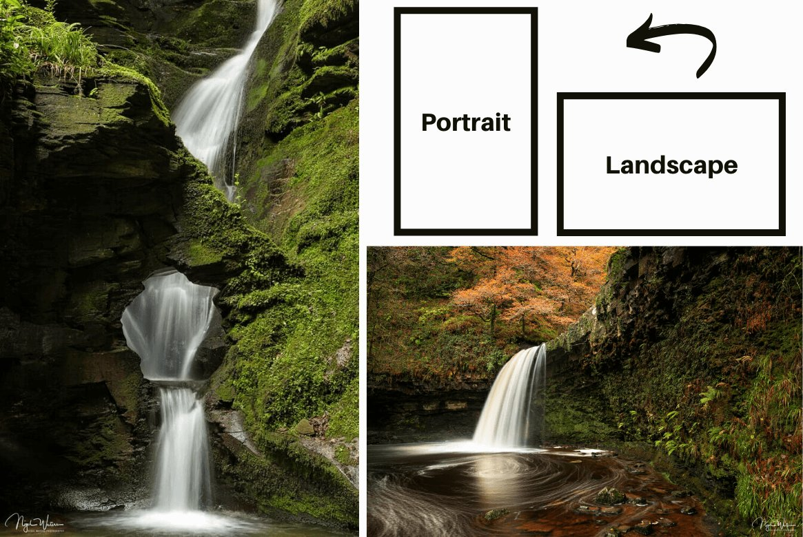 Portrait vs Landscape Frame Orientation