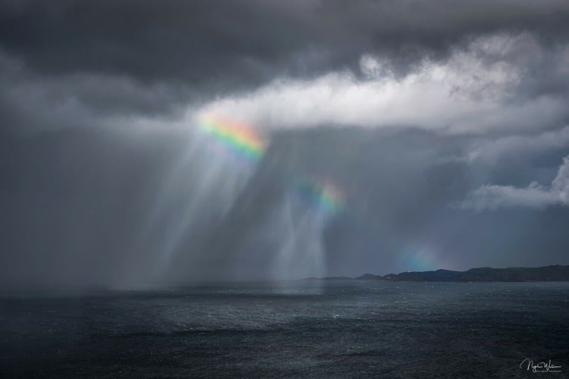 Limited Edition Seascape print Rona Rainbow